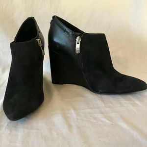 Vince Camuto Wedge Booties.